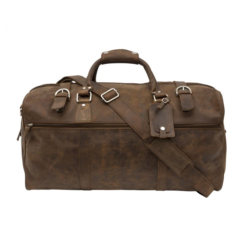 distressed rome holdall