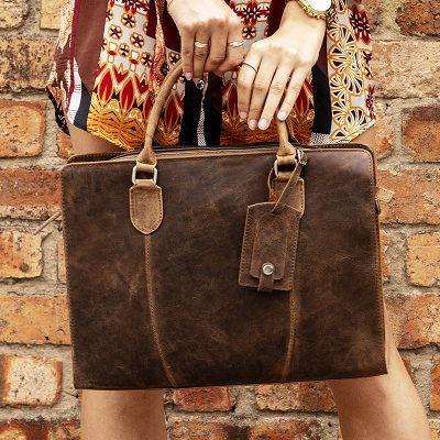 Distressed Rimini Satchel