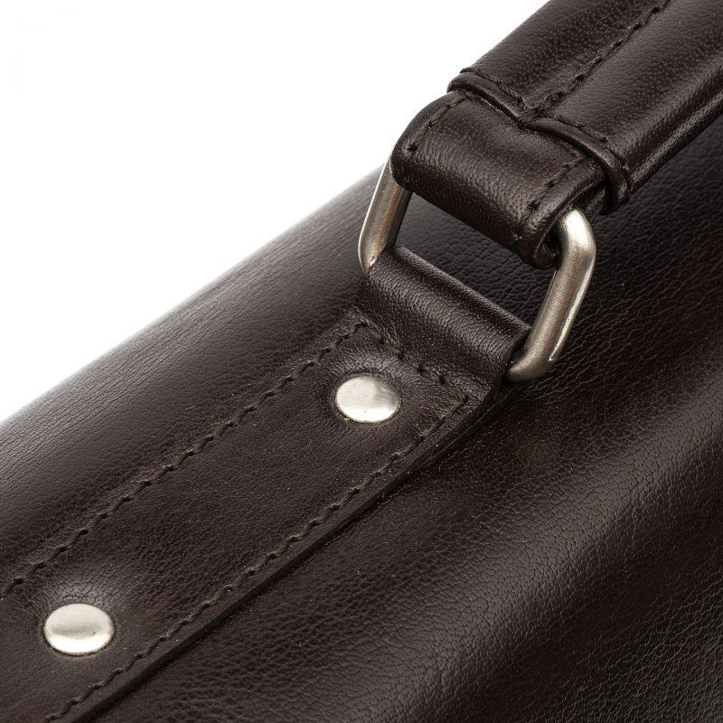 Sicily leather satchel