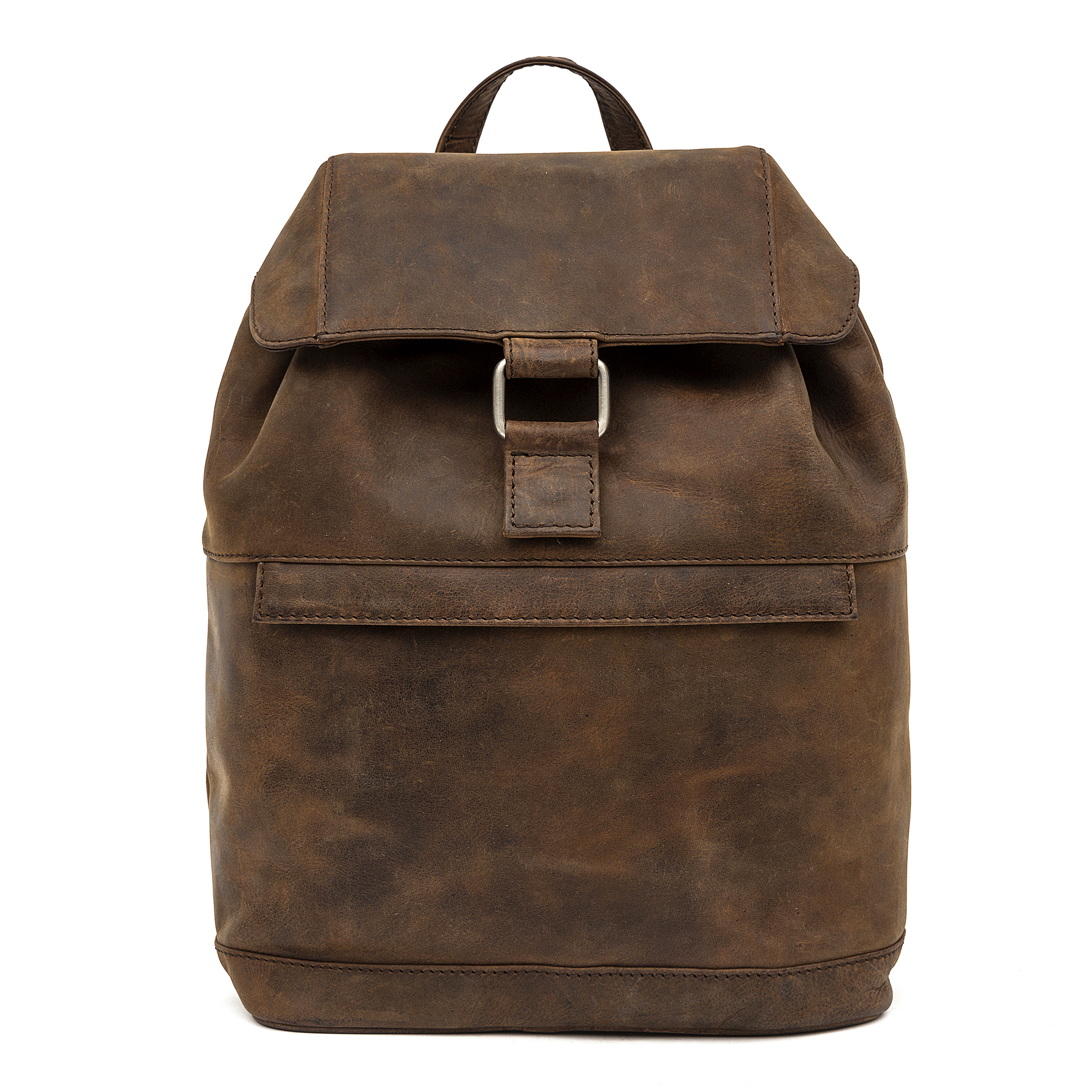3971e5c7c61e29 leather backpack by Porterbello's Sorrento rucksack brown vintage
