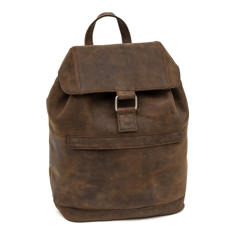 sorrento distressed leather backpack