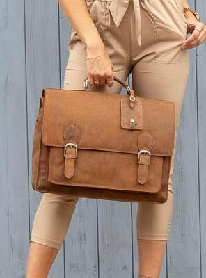 Trieste Leather Satchel