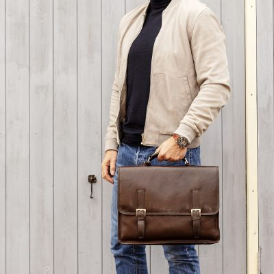 Brown Sicily Satchel