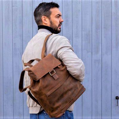 distressed sorrento backpack